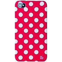 Pat Says Now Red Polka Dot Hartschale für iPhone 4/4S mehrfarbig