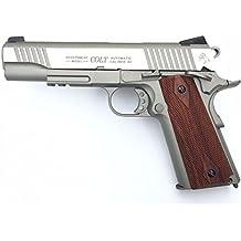 Cybergun Colt 1911 Rail Gun Stainless Co2 Réplique puissance 0.5 joules