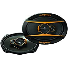 Songbird 6''x9'' Oval 500W Max 3 Way Super BASS Gold Series SB-B69-06 Coaxial Car Speaker