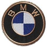B.M.W. Logo 7,6 CM Toppe Ricamate TERMOADESIVA Patch