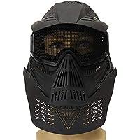 genenric Biker - Máscara Completa táctica de Paintball CS Airsoft, protección Facial