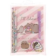 Pusheen- Producto Oficial Super Set – Cute Cat papelería, Color Rosa (Blueprint PUSG2882