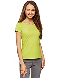 Amazon.it  Maglia donna in cotone - T-shirt   T-shirt 26f5cfe329e8