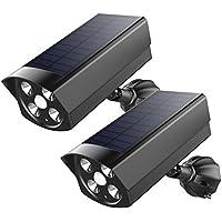 Luce Solare per Esterno Interni 800LM,Lampade Solari per Giardino con