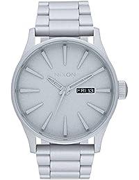 Nixon Unisex-Armbanduhr Analog Quarz Edelstahl A3562339-00