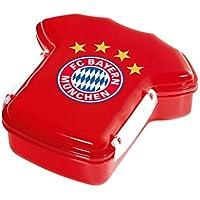 Preisvergleich für FC Bayern München Trikot - Brotdose / Lunchbox / Frühstücksbox / Vorratsdose FCB