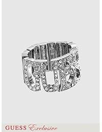 Guess Femmes Bague Metal Argent UBR80919