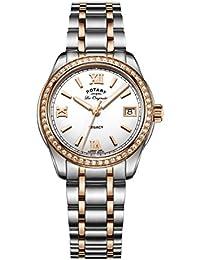 Rotary Damen - Armbanduhr Legacy Analog Quarz LB90175/01