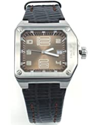 Breil BW0391 - Reloj analógico de mujer de cuarzo con correa de piel marrón