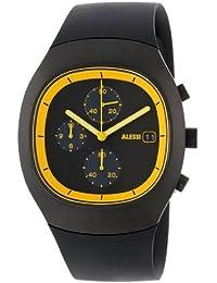 Alessi Unisex-Armbanduhr Chronograph Quarz Plastik silber AL21011