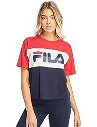 ae2b01f0ca0 Fila Tee Shirt 682125 Allison Bleu F XS
