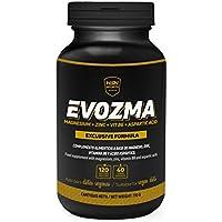 HSN Sports ZMA Zinc Magnesio Vitamina B6 - Evozma – Mejora el Entorno Hormonal elevando los