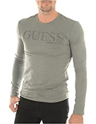 Guess Radius Tee L/s Rn-M63i74j1300, Haut Thermique Homme