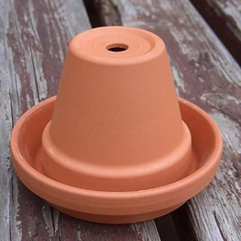 Vaso in Terracotta Mini (8 cm diametro vaso) posacenere
