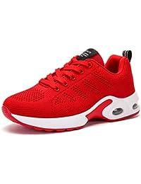 GNEDIAE Mujer Zapatillas de Senderismo Deportivas Aire Libre y Deportes Montaña y Asfalto Zapatos para Correr