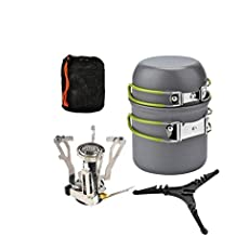 KTM MTK Utensilios Cocina para Acampar - Mochila para Excursionismo Equipo Cocina Picnic Al Aire Libre