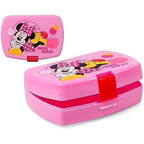 Scatola di Pranzo Minnie Mouse- Portamerenda 16 x 11 cm - Mouse Pranzo