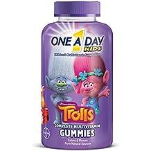 One A Day Kids Trolls Gummies, 180 Count