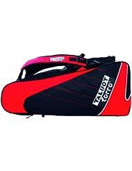 Talbot Torro 449215 Sac pour raquettes de badminton Noir/rouge