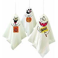 3 fantômes à suspendre - décorations Halloween