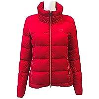 Equiline Preppy Ladies Padded Jacket Red/Large