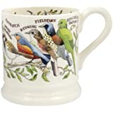 EMMA BRIDGEWATER POTTERY NEW HALF PINT MUG - Garden Birds