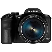 Samsung WB1100F Smart Camera - Black (16.2MP, Optical Image Stabilisation) 3 inch LCD