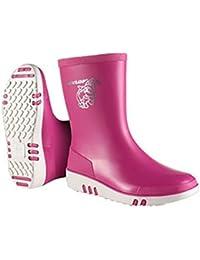 Dunlop - Botas Estilo Wellies Infantil (30 EU/Rosa)