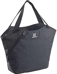 Salomon Bag Rucksack Tasche Gualea Tote - Mochila, color negro, talla 40.0 x 31.0 x 18.0 cm, 13 l