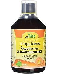 cdVet Naturprodukte - 129 - Huile de nigelle d'Égypte - Pressée à froid - 500 ml