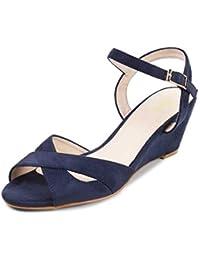 tresmode Women Wedge Heel Sandal