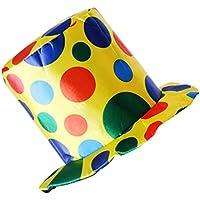 Gazechimp Sombrero de Payaso de Copa de Tela Adornos para Cumpleaños Accesorio de Fiesta de Disfraz - #2