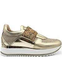 bd54e32685f66c ALVIERO MARTINI 1a Classe Junior 0287 0030 Platino Sneakers Scarpe Donna  Bambini