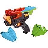 The Ultimate Papier Avion lanceur Shooter–Peluche–Noir et Orange