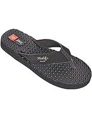 Ortho Care Doctor MCR Anti Foot Pain Healthcare Rubber Slipper for Women - Black