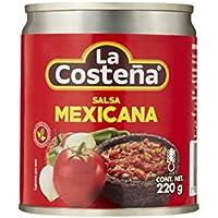 LA COSTEÑA salsa mexicana casera frasco 220 gr