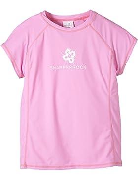 Snapper Rock Mädchen UPF 50+ UV Schutz Kurzarm Bade Shirt für Kinder & Jugendliche