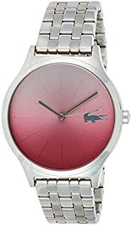 Lacoste Women's 'Nikita' Quartz Stainless Steel Casual Watch, Color:Silver-Toned (Mod