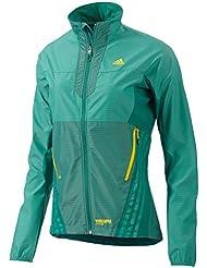Adidas Terrex Softshell Hybrid Outdoor Damen Jacke Grün