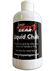 Exercise & Fitness Weight Lifting Pole Dancing Grip Liquid Chalk Bottle 250ml by Only Sports Gear