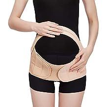 3932418a1 Acqrobe Cinturón de maternidad Carpeta abdominal Banda para el vientre Bump  Wrap Cintura Soporte para la