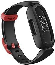 Fitbit Ace 3 Tracker per bambini da 6 anni in su, Divertenti quadrati orologio animati & Resistente all