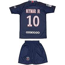 ATB PSG Paris Saint Germain #10 Neymar 2018 2019 Heim Kinder Trikot und Hose