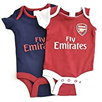 e4e368f7b Arsenal Baby KIT Body Suits Baby Vests 2 Pack Home   Away New Season KIT  2018