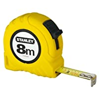 Stanley 1-30-457 Şerit Metre, Sarı/Siyah, 1 Adet