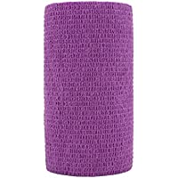 STpro Selbstklebender Verband Tape Fixierverband Selbsthaftende Bandage Tape Haftbandage 10cm x 6 Stück Violett... preisvergleich bei billige-tabletten.eu