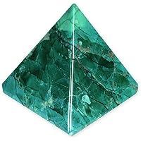 YHC3 Chrysokoll-Howlith-Pyramide, klein preisvergleich bei billige-tabletten.eu