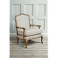 MY Furniture   French Louis Style Shabby Chic OAK Dining Occasional ArmChair    Le Brun