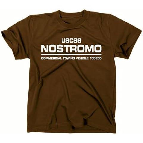 'USCSS nostromo Alien película T-Shirt, 1234, DVD