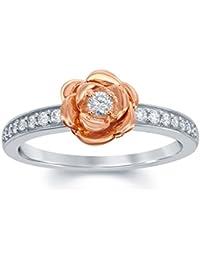 Enchanted Disney Fine Jewelry Damen Ringe Silber - RGO5991SP9QDSAU
